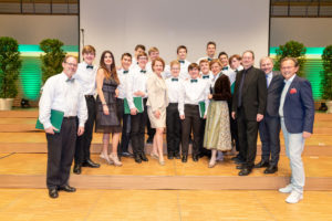 Schilling Singers win Choral Competition in Vienna, Austria
